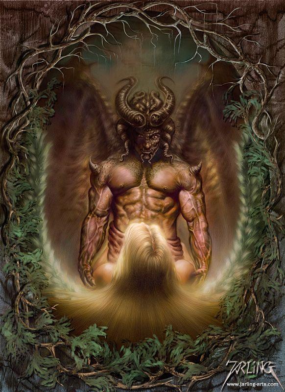 Publi  233  le 26 09 2011   224  19 58 par sissiblog Tags   d  233 monsAngels Demons Painting